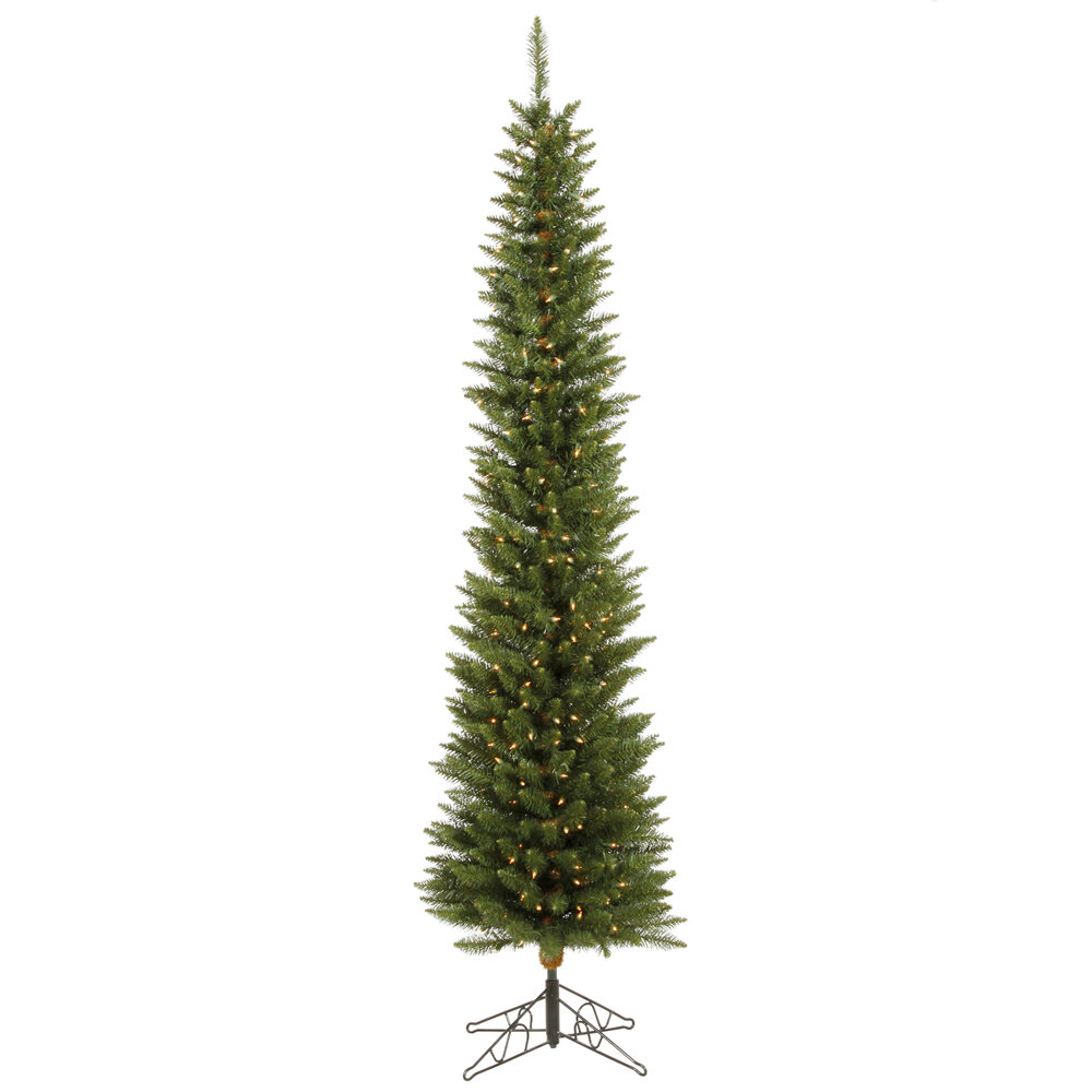 12 Ft Pre Lit Christmas Tree Costco: Vickerman Durham Pole Pine 7.5' Green Artificial Christmas