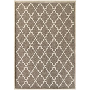 Cardwell Brown Indoor/Outdoor Area Rug