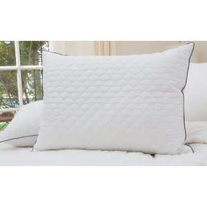 Scallop Quilted Down Alternative Pillow by Alwyn Home
