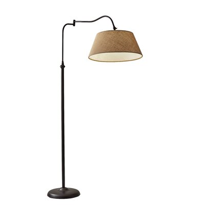 Pursel 61 swing arm floor lamp