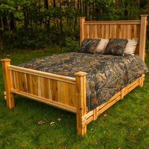 Nativ Living? Mountain Maple Panel Bed by Mountain Woods Furniture