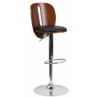 Blairstown Adjustable Height Swivel Bar Stool