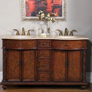 pleasing bathroom vanity options. Butler 60  Double Bathroom Vanity Set Knotty Alder Wayfair