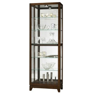 Hubbard Lighted Curio Cabinet