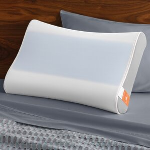 Contour Side to Side Breeze Memory Foam Queen Pillow by Tempur-Pedic