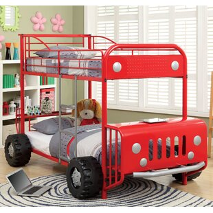 Car Fire Truck Themed Bunk Loft Beds You Ll Love Wayfair