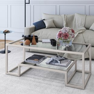 Hammered Silver Coffee Table | Wayfair