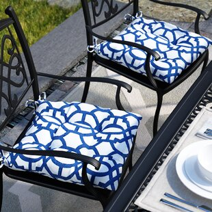 Wrought Indoor Outdoor Dining Chair Cushion Set Of 2