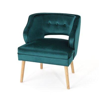 Modern Blue Velvet Accent Chairs Allmodern