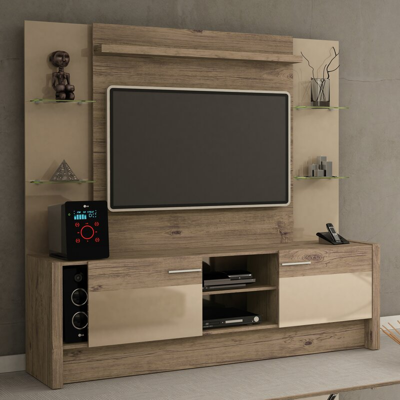 Union Rustic Redmond Entertainment Center For Tvs Up To 50