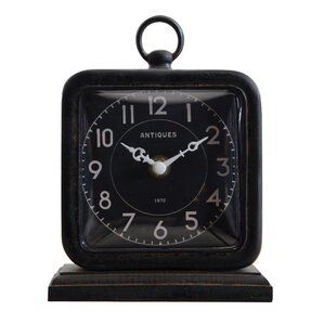 turn of the century table clock