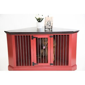 Cozy K 9 Medium Corner Credenza Pet Crate