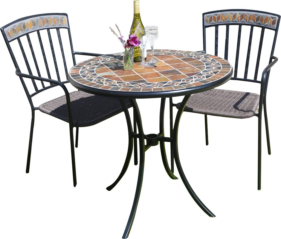 europa leisure 3 tlg bistro set belmont bewertungen. Black Bedroom Furniture Sets. Home Design Ideas
