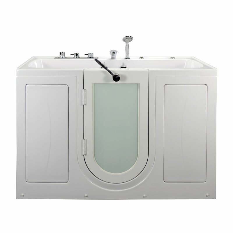 Ella Walk In Bath Tub4Two Two Seat Outward Swing Door Hydro Massage ...