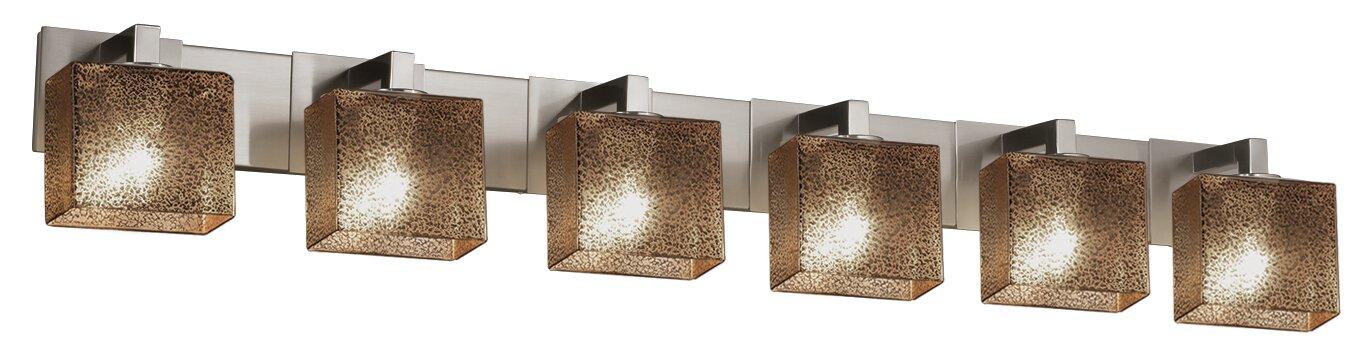Brayden Studio Luzerne 6-Light Vanity Light | Wayfair