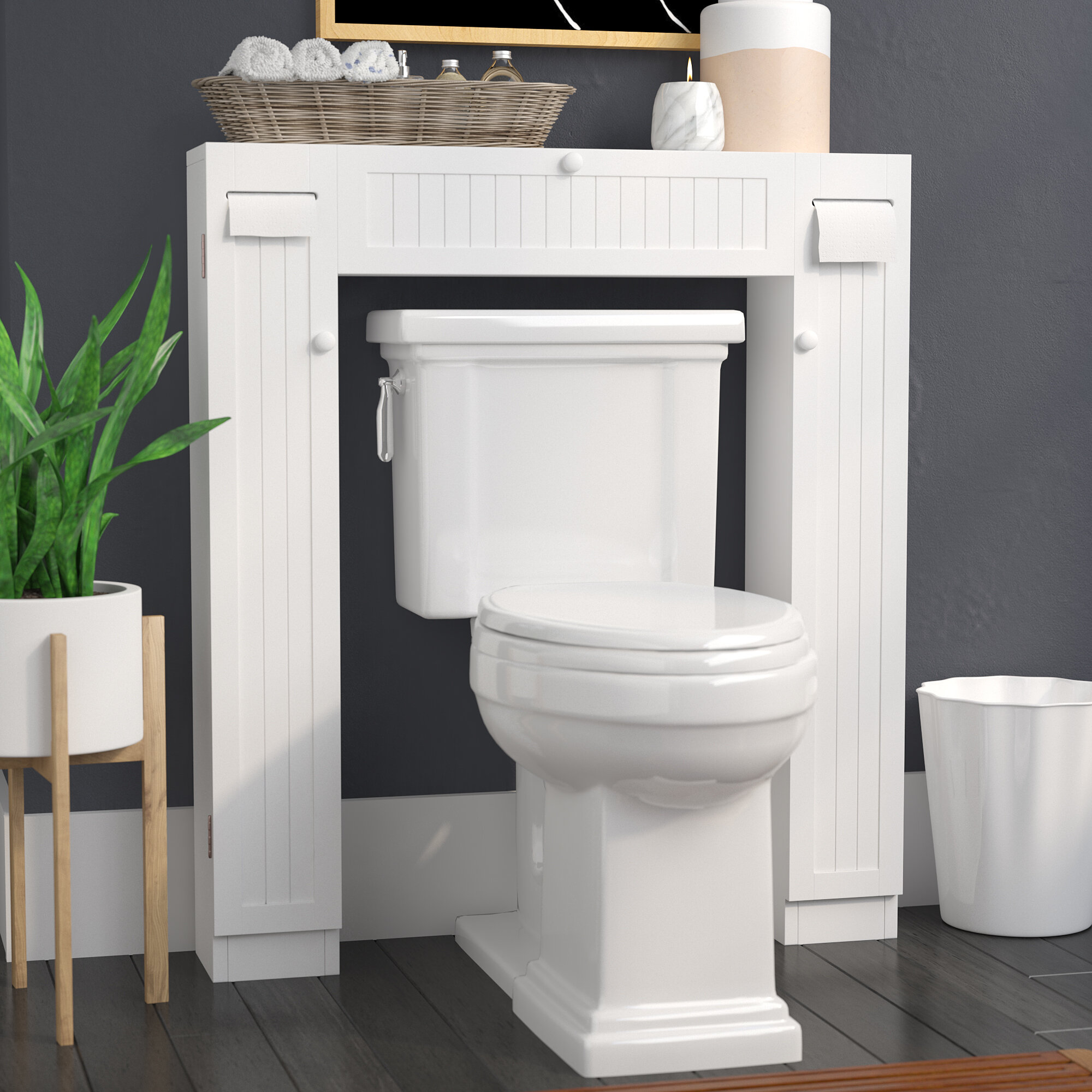 Wayfair The Twillery Co Eleanor 34 W X 38 5 H Over The Toilet