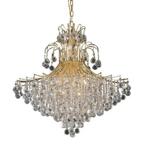 McAllen 15-Light Crystal Chandelier