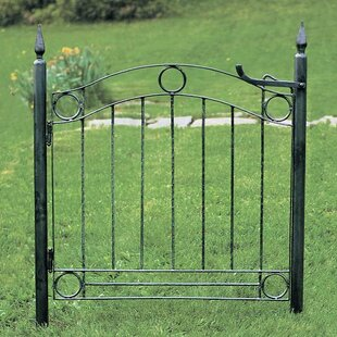 Country Cottage Wrought Iron Garden Gate