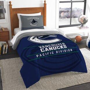 NHL Draft 2 Piece Twin Comforter Set