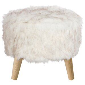 Cherell Round Ottoman with..