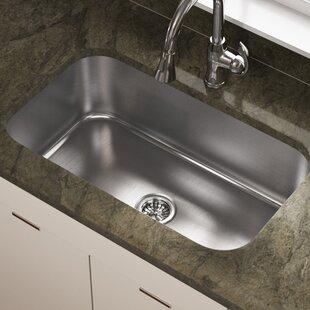Stainless Steel 32 X 19 Undermount Kitchen Sink