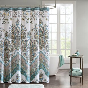 East Rolstone Printed Single Shower Curtain