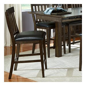 Alder Slatback Upholstered Dining Chair by Loon Peak