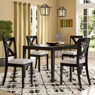 Marcie Transitional 5 Piece Dining Set
