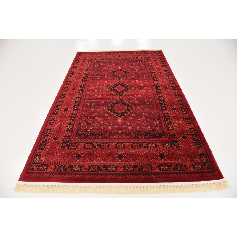 Kowloon Red Area Rug & Reviews