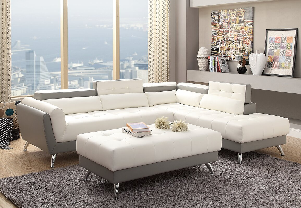 and reviews designs review wayfair zenda loveseat sectional sofa bobkona set poundex furniture