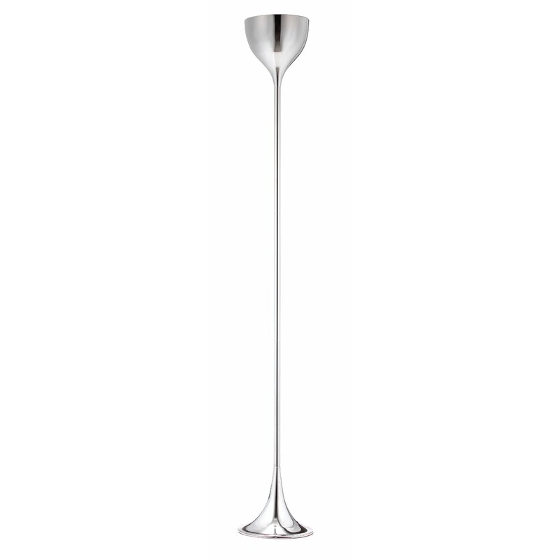 Omicron 66 9 Quot Torchiere Floor Lamp Amp Reviews Allmodern