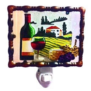 Tuscany Wine Night Light