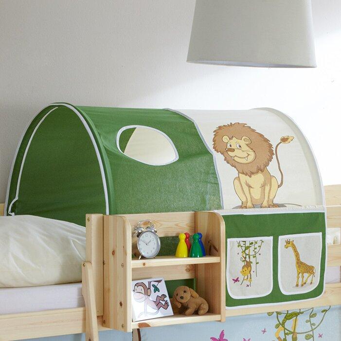 ticaa halbhochbett ellesmere mit rutsche 90 x 200 cm bewertungen. Black Bedroom Furniture Sets. Home Design Ideas