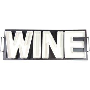 5-Piece Wine Serving Dish & Tray Set