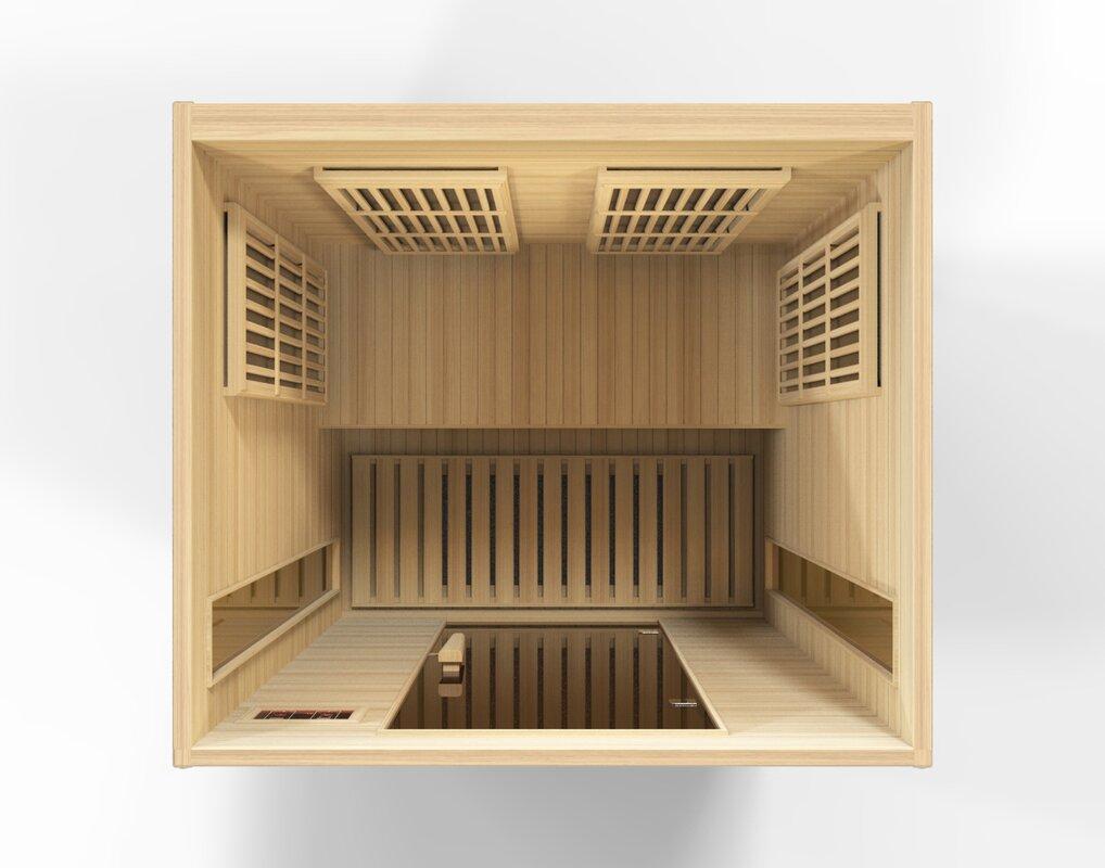 Luxury 2 Person FAR Infrared Sauna