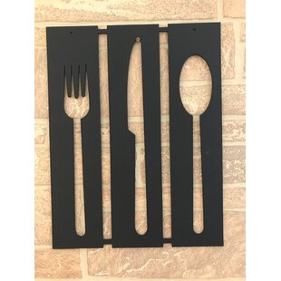 Fork, Knife And Spoon Wall Décor