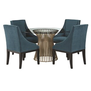 Dungannon 5 Piece Dining Set Great Reviews