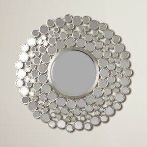 Round Wall Mirror round wall mirrors you'll love | wayfair
