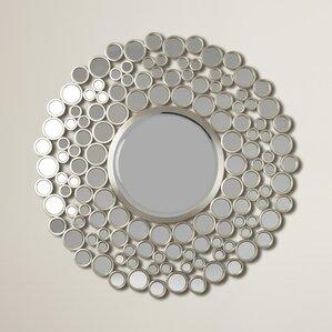 Round Wall Mirror round wall mirrors you'll love | wayfair