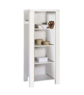 Milano White Bookcase