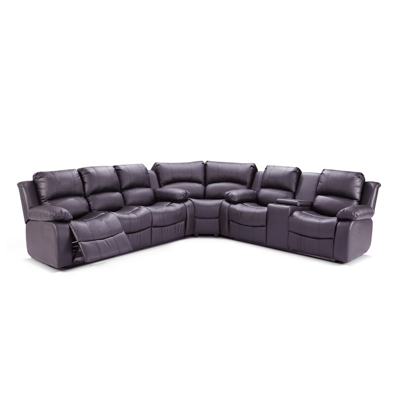 Living In Style Reno Reversible Reclining Sectional