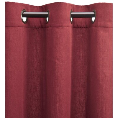 Bella Luna Emma Solid Room Darkening Thermal Grommet Single Curtain ...