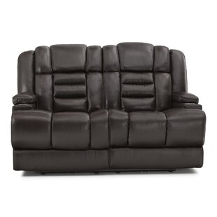Exceptionnel Leather Home Theater Loveseat