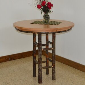 Hickory Pub Table by A&L Furniture