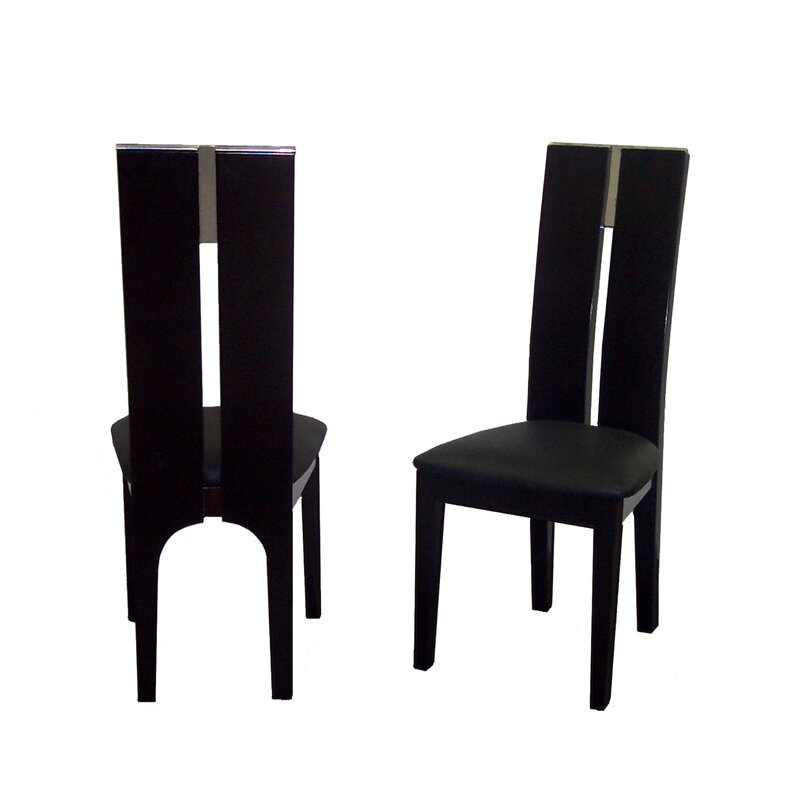 avanti genuine leather upholstered dining chair