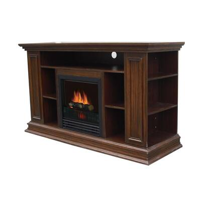 Millwood Pines Albus Media Tv Stand For Tvs Up To 65 With Fireplace