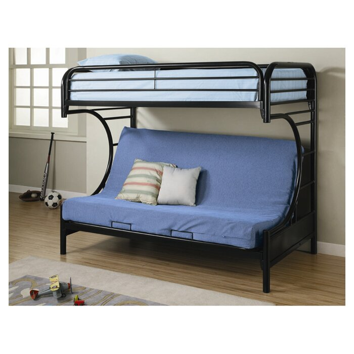 Wildon Home Fall Creek Twin Over Full Bunk Bed Reviews Wayfair