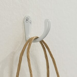Utility Metal Wall Hook (Set of 8)