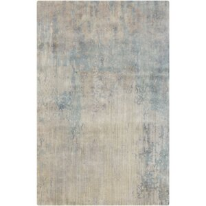 Hagar Hand-Knotted Ivory Area Rug