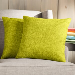 Wayfair Basics Throw Pillow (Set Of 2)